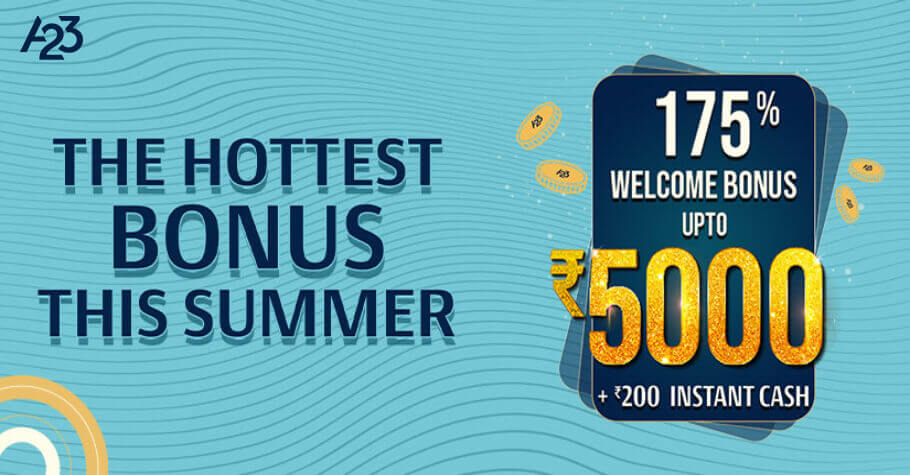 Ace2Three Rummy Offers A Spectacular Welcome Bonus Of ₹5000