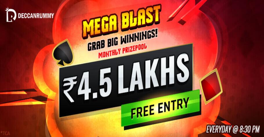 Deccan Rummy- Mega Blast