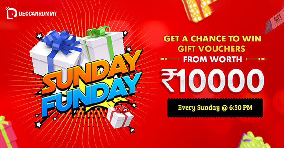 Sign-up On Deccan Rummy To Grab Gift Voucher Worth 10K