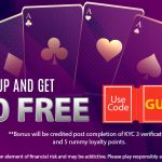 Sign-up On 9stacks Rummy & Get ₹200 FREE