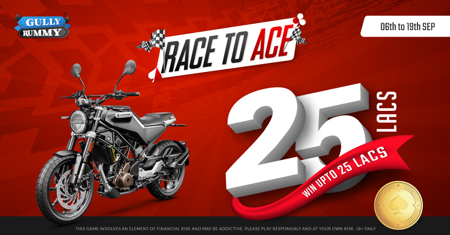 Race Your Way To The Top On Gully Rummy's RACE TO ACE – GOLD CLUB