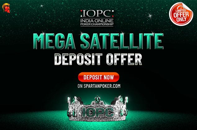 IOPC Mega Satellite deposit offer