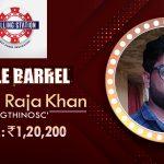 Wasim Khan on winning in Calling station's Triple Barrel series!